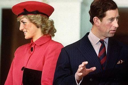Vor einem Vierteljahrhundert, am 28. August 1996, ließen sich Diana und Charles scheiden. Foto: Wolfgang Eilmes/dpa