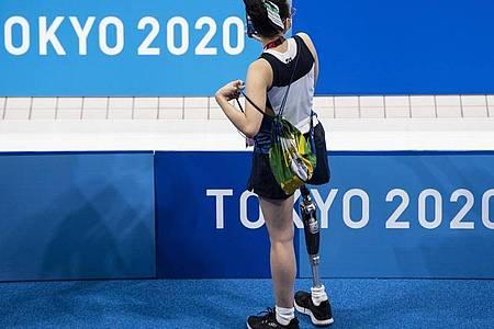 Mit einem Jahr Verspätung beginnen finden auch die Sommer-Paralympics in Tokio statt. Foto: Ennio Leanza/KEYSTONE/dpa