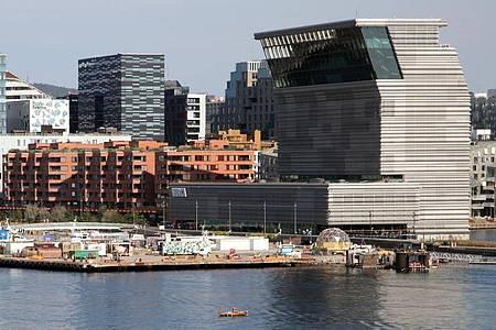 Das Munch Museum in Oslo. Foto: Steffen Trumpf/dpa