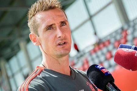 Wird Co-Trainer von Hansi Flick bei den Bayern-Profis: Miroslav Klose. Foto: Matthias Balk/dpa