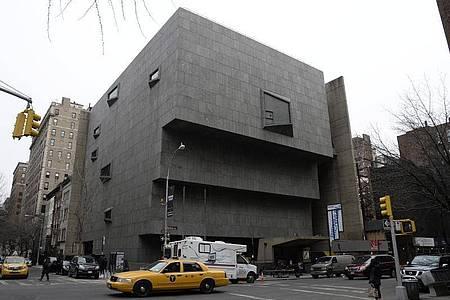 Das ehemalige Whitney Museum of American Art in New York. Foto: Andrew Gombert/EPA/dpa