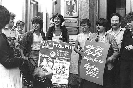 Die Heinze-Frauen zogen durch alle Instanzen bis vor das Bundesarbeitsgericht. Foto: DB Zschetzschingck/dpa