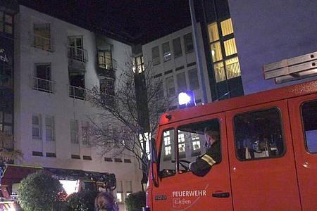 Der Sachschaden bei dem Brand in der Uniklinik Gießen wird auf etwa eine Million Euro geschätzt. Foto: -/5vision.media/dpa