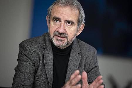 Hermann Parzinger, Präsident Stiftung Preußischer Kulturbesitz (SPK). Foto: Fabian Sommer/dpa
