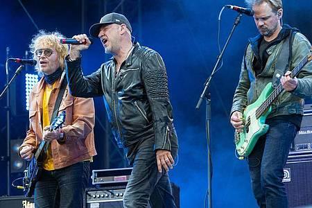 Fury in the Slaughterhouse zählten in den 1990er Jahren zu den erfolgreichsten deutschen Bands. Ihr aktuelles Album «Now» ist das erste Studioalbum seit gut 13 Jahren. Foto: Lucas Bäuml/dpa