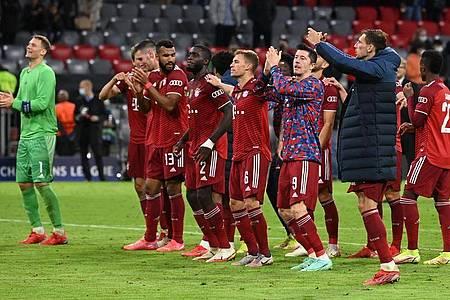 Der FCBayern München dominiert auch in der Champions League. Foto: Sven Hoppe/dpa