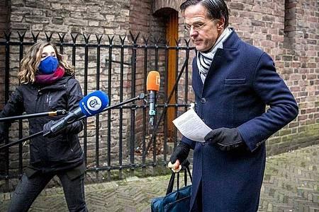 Die Regierung von Ministerpräsident Mark Rutte ist laut Medienangaben zurückgereten. Foto: Remko De Waal/ANP/dpa