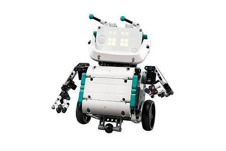 Dieser Mindstorms-Robo eignet sich besonders gut als erstes Projekt. Foto: Lego/dpa-tmn