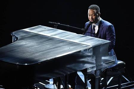 Mit viel Gefühl:John Legend. Foto: Chris Pizzello/Invision/AP/dpa