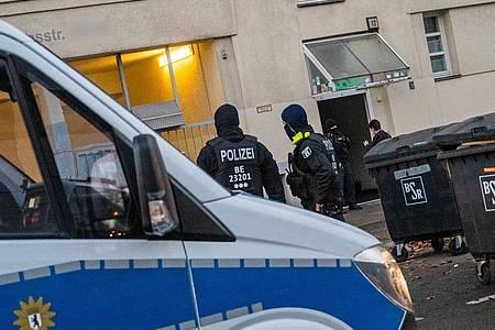 Razzia gegen Islamisten in Berlin-Moabit (Archivfoto). Foto: Christophe Gateau/dpa