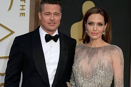 Das Hollywood-Paar Angelina Jolie und Brad Pitt heirateten 2014. Die Ehe hielt allerdings nicht lange. Foto: Mike Nelson/EPA/dpa