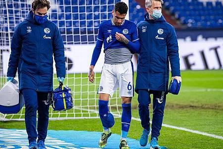 Fehlt Schalke gegen Ulm: Kapotän Omar Mascarell (M). Foto: Guido Kirchner/dpa