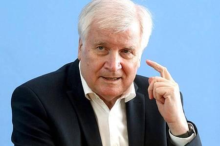 Bundesinnenminister Horst Seehofer (CSU). Foto: Wolfgang Kumm/dpa