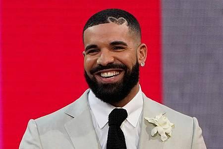 Drake, Rapper und R&B-Sänger, ist einsame spitze. Foto: Chris Pizzello/Invision/AP/dpa