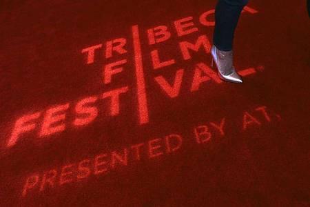 2020 fiel das «Tribeca Film Festival» der Pandemie zum Opfer. Die Vorfreude auf den New Yorker Filmsommer ist groß. Foto: Peter Foley/EPA/dpa/Archivbild