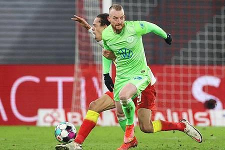 Schon seit Monaten gehört Maximilian Arnold zu den herausragenden Spielern des VfL Wolfsburg. Foto: Jan Woitas/dpa-Zentralbild/dpa
