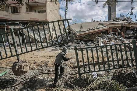 Ein Ende des Konflikts zwischen Israel und militanten Palästinensern scheint noch nicht in Sicht. Foto: Mohammed Talatene/dpa