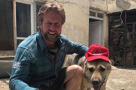 Der ehemalige Soldat Paul Farthing hat Haustiere aus Afghanistan evakuiert. Foto: Nowzad/PA Media/dpa