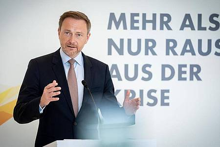 FDP-Chef Christian Lindner geht als Spitzenkandidat seiner Partei in den Bundestagswahlkanmpf. Foto: Kay Nietfeld/dpa