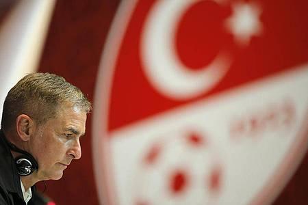 Jetzt startet Stefan Kuntz sein Abenteuer als Nationalcoach der Türkei. Foto: Uncredited/AP/dpa