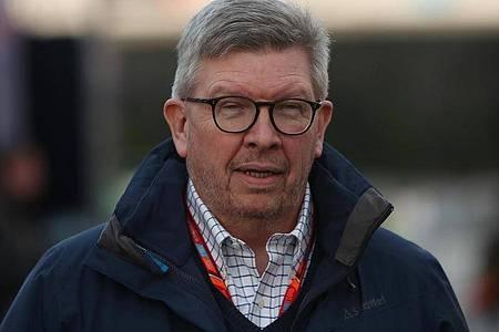 Will die Formel 1 soll schnell wie möglich und wenn nötig auch ohne Zuschauer wieder starten: Ross Brawn. Foto: David Davies/Press Association/dpa