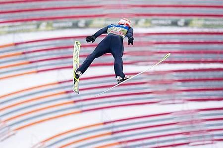 Wurde Vierter der Qualifikation: Markus Eisenbichler. Foto: Georg Hochmuth/APA/dpa