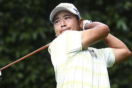Hideki Matsuyama gewinnt als erster Japaner ein Major-Turnier. Foto: -/kyodo/dpa