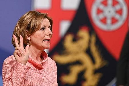 Malu Dreyer (SPD) ist erneut zur Ministerpräsidentin des Landes Rheinland-Pfalz gewählt worden. Foto: Arne Dedert/dpa POOL/dpa
