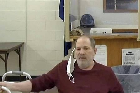 Harvey Weinstein sitzt seine Strafe derzeit in einem Gefängnis im Bundesstaat New York ab. Foto: Uncredited/New York Unified Court System via AP/dpa