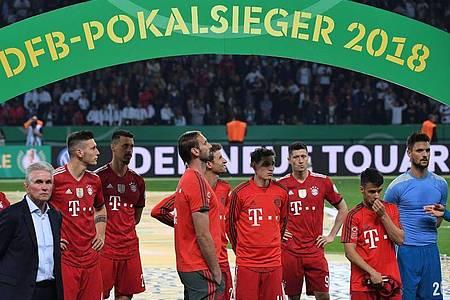 Vor zwei Jahren verlor der FC Bayern München das DFB-Pokalfinale gegen Eintracht Frankfurt. Foto: Peter Kneffel/dpa