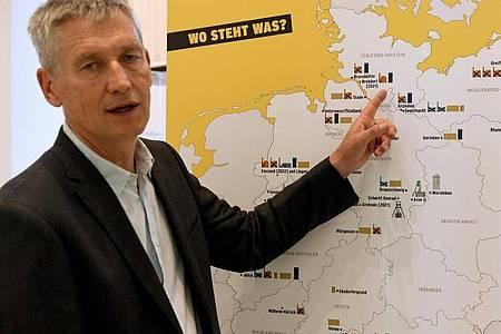 Wolfram König, Präsident des Bundesamts für die Sicherheit der nuklearen Entsorgung. Foto: Carsten Rehder/dpa