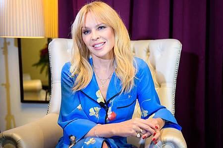 Kylie Minogue hat Heimweh. Foto: Gregor Fischer/dpa