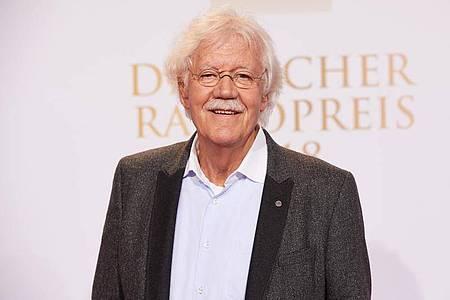 Carlo von Tiedemann ist mit Leib und Seele Radio-Moderator. Foto: Georg Wendt/dpa
