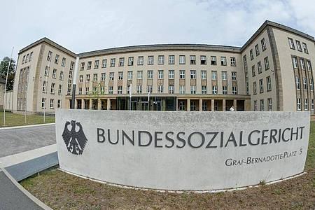 Das Bundessozialgericht in Kassel. Foto: Swen Pförtner/dpa