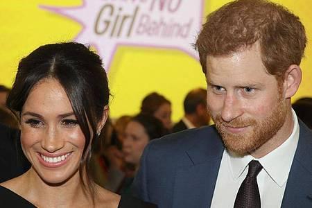 Herzogin Meghan und der britische Prinz Harry sind zum zweiten Mal Eltern geworden. Foto: Chris Jackson/PA Wire/dpa