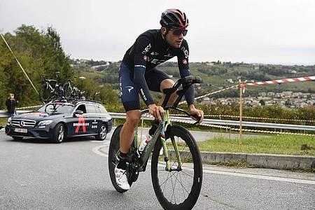 Zeitfahr-Spezialist Filippo Ganna. Foto: Fabio Ferrari/LaPresse/AP/dpa