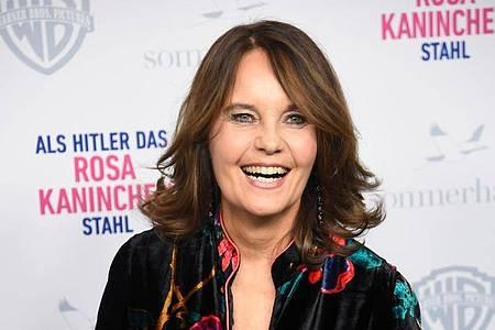 Regisseurin Caroline Link bei der Premiere ihres Films «Als Hitler das rosa Kaninchen stahl» 2019 in München. Foto: Tobias Hase/dpa