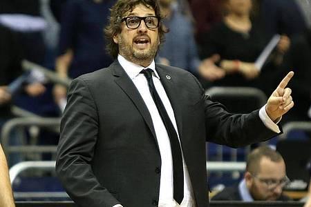Soll Trainer bei den Basketballern des FC Bayern München werden. Foto: Andreas Gora/dpa