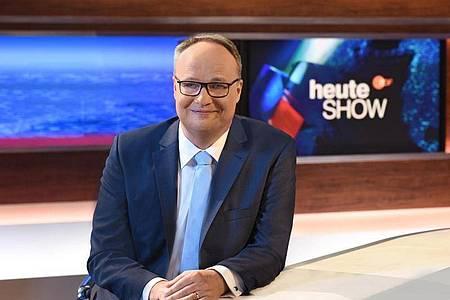 Die ZDF-Satiresendung «heute show» hatte 4,18 Millionen Zuschauer. Foto: Sascha Baumann/ZDF/dpa