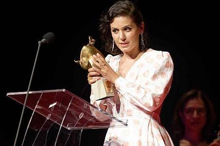 Die Sängerin Katie Melua hat einen Europäischen Kulturpreis bekommen. Foto: Henning Kaiser/dpa
