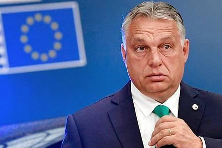 Die ungarische Regierung von Ministerpräsident Viktor Orban ist mit einer Klage vor dem EuGH gescheitert. Foto: John Thys/AFP Pool/AP/dpa/Archivbild
