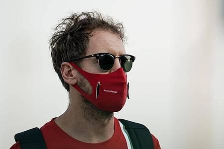 Musste nach dem Lockdown im Frühling erstmal zum Friseur:Formel-1-Pilot Sebastian Vettel. Foto: James Gasperotti/ZUMA Wire/dpa