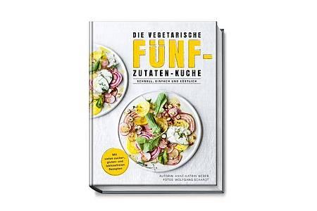 «Die vegetarische Fünf-Zutaten-Küche», Anne-Katrin Weber, Becker Joest Volk Verlag, 192 S., Euro 29,95 Euro, ISBN: 978-3954531646. Foto: Wolfgang Schardt/Becker Joest Volk Verlag/dpa-tmn