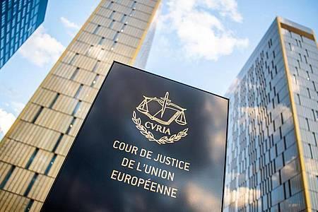 Das Europäische Gerichtshofs im Europaviertel auf dem Kirchberg in Luxemburg. Foto: Arne Immanuel Bänsch/dpa