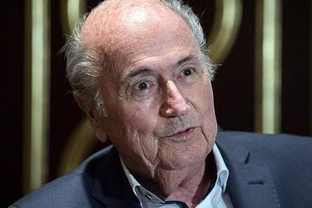 Wurde von der FIFA angezeigt: Ex-Präsident Joseph Blatter. Foto: Federico Gambarini/dpa