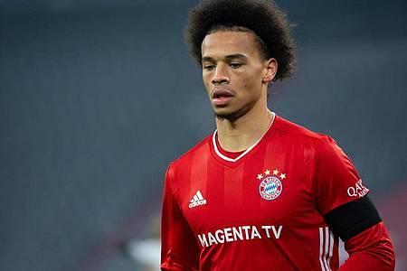 Erst eingewechselt, dann ausgewechselt: Bayern-Star Leroy Sané. Foto: Sven Hoppe/dpa
