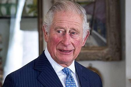 Prinz Charles macht Mut:«Zusammen werden wir diesen Kampf gewinnen.». Foto: Victoria Jones/PA Wire/dpa