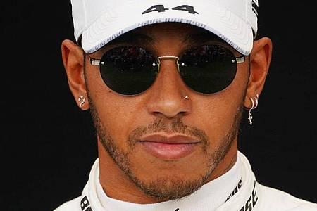 Fühlt sich gesund und trainiert täglich: Lewis Hamilton. Foto: Scott Barbour/AAP/dpa