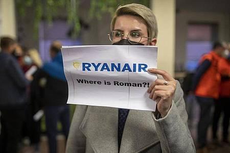 Die Festnahme des Bloggern Roman Protassewitsch könnte Sanktionen gegen Belarus zur Folge haben. Foto: Mindaugas Kulbis/AP/dpa