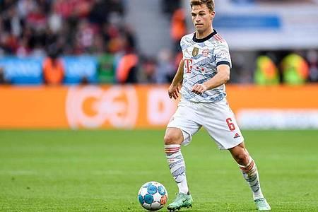 Aus persönlichen Gründen nicht gegen Corona geimpft: Bayern-Profi Joshua Kimmich. Foto: Marius Becker/dpa/Archivbild